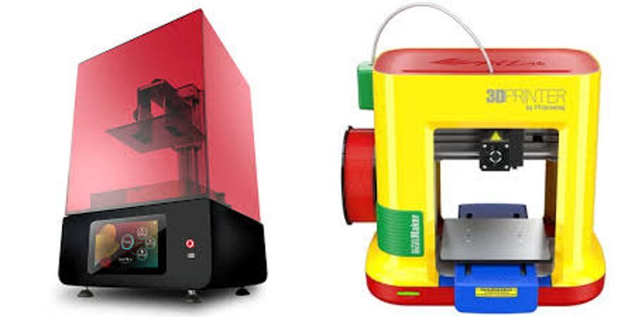 diferentes modelos de impresoras 3d