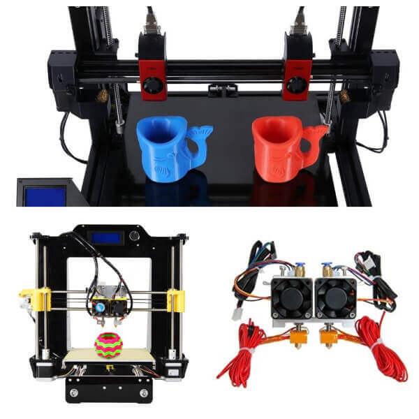 Impresora 3d dual