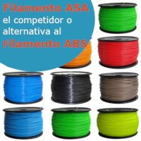 Filamento ASA para impresoras 3D