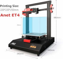 Anet ET4. Nueva impresora 3D
