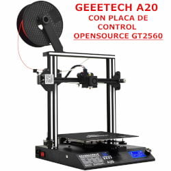Impresora 3D Geeetech A20 con placa base open source GT2560