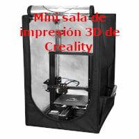 Mini sala de impresión 3D de Creality 3D