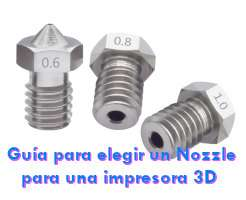 nozzle impresora 3D