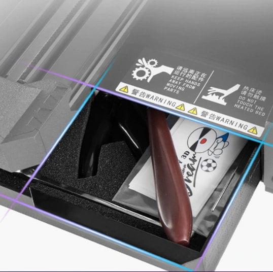 Cajón de herramientas y accesorios Creality Cr6
