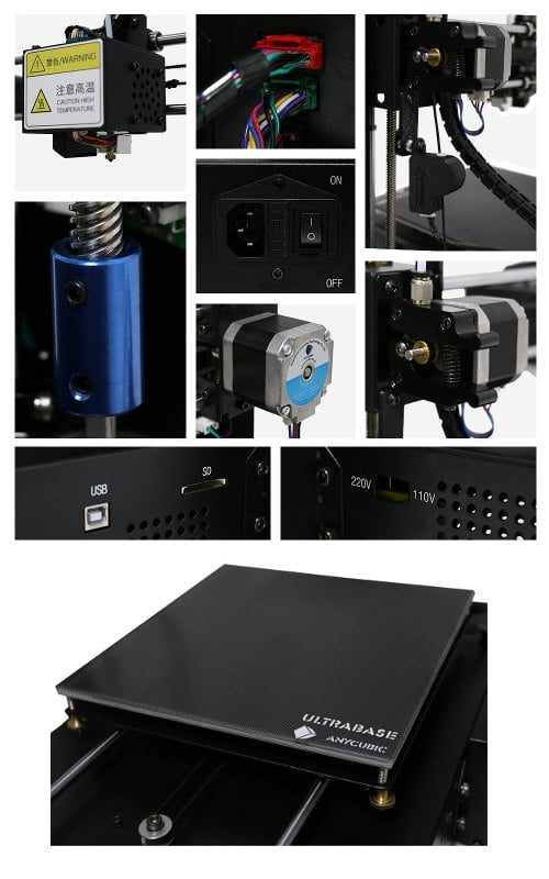 Anycubic-i3-mega-componentes