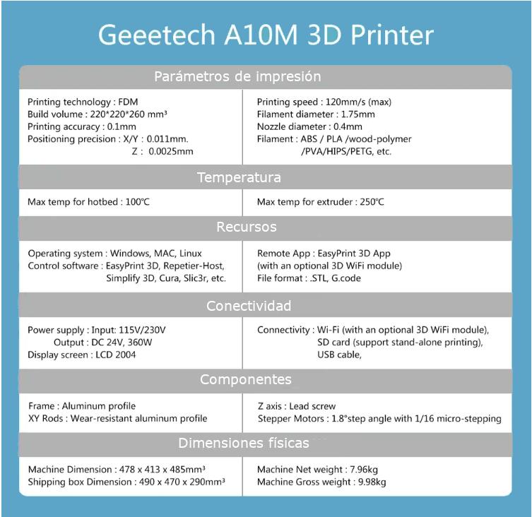 Características-técnicas-Geeetech-A10M