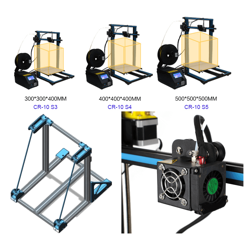 Crealty-CR-10 impresora-3d