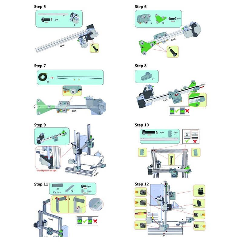 creality-ender 3-impresora-3d- barata-montaje